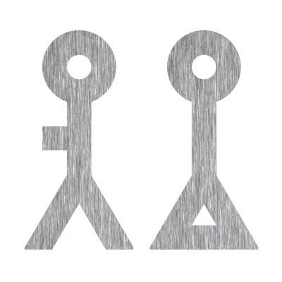 N°30_MANN & FRAU ABSTRAKT, BAUHAUS