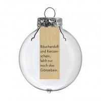"""POESIE IM GLAS """"RÄUCHERDUFT"""""""